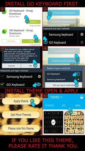 go keyboard themes apk free mobile9 owl keyboard theme for pc