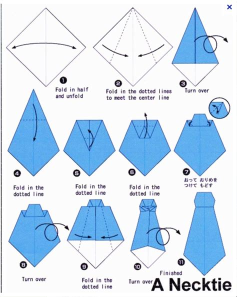 exles of origami with steps information design banannadesign