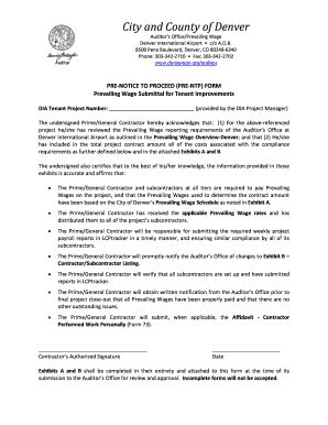 notice to proceed template notice to proceed to contractor forms and templates
