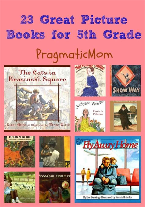 23 Great Picture Books For 5th Grade Pictures Read