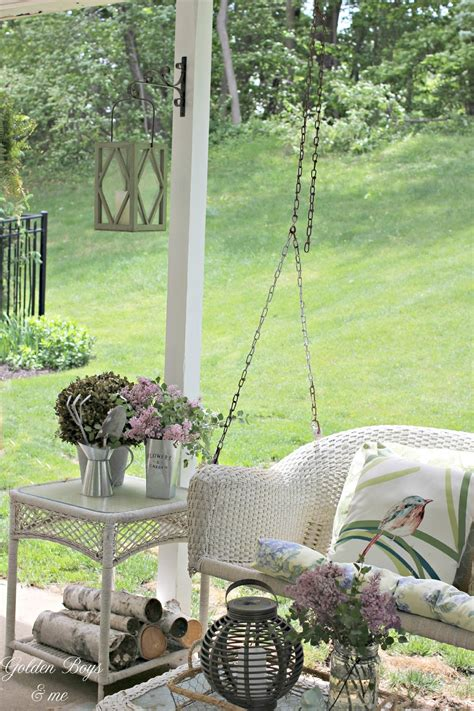 outdoor covered swing golden boys and me outdoor patio ideas