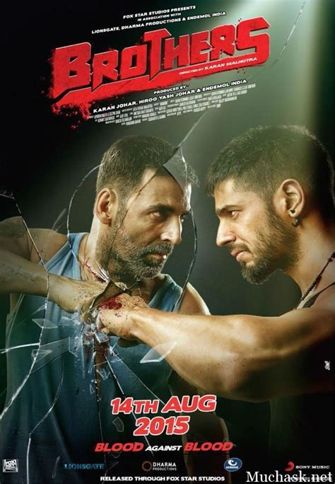 film india action brothers bollywood hindi movie 2015 brand new poster look