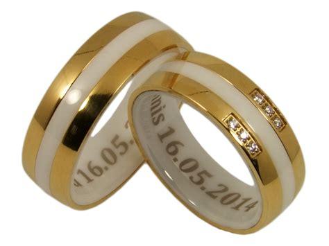 Ausgefallene Paar Ringe by Keramikringe Mit Gratis Gravur Kwo Trauringe