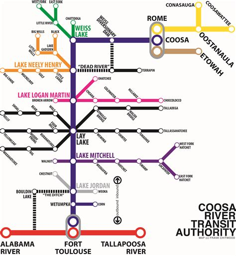 coosa river map new coosa river maps give you a new perspective coosa