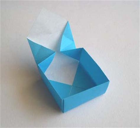 Simple Origami Basket - image gallery origami box