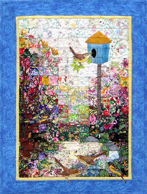 watercolor quilt pattern free birdhouse watercolor quilt kit whims