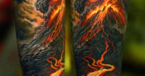 volcano tattoo erupting volcano http tattooideas247 erupting