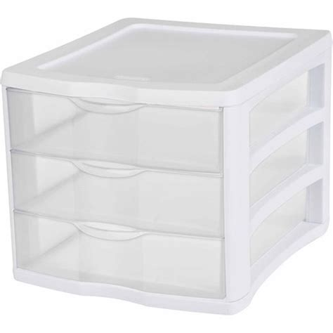 clear plastic drawers nz sterilite organiser 3 drawer plastic storage mitre 10