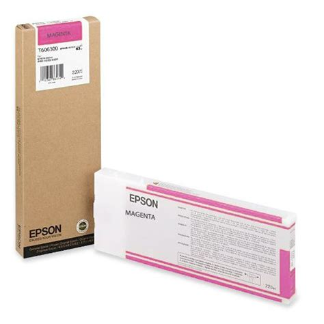 Tinta Epson Stylus Pro 4880 Tinta Magenta T6063 Epson Stylus Pro 4880 220ml