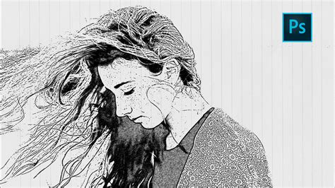 tutorial photoshop yt photoshop sketch effect tutorial how to turn photo into