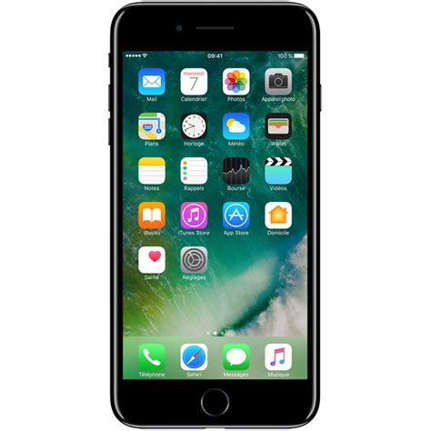 apple iphone     noir de jais mobile smartphone apple sur ldlccom