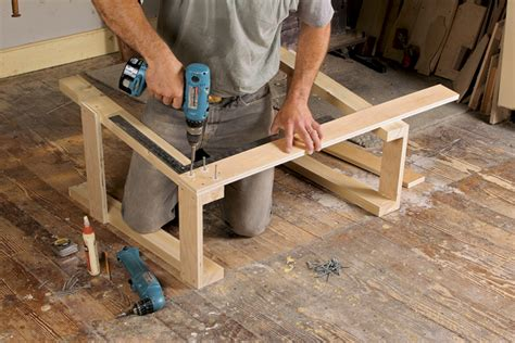 circular saw bench for logs free plan sturdy sawhorses finewoodworking