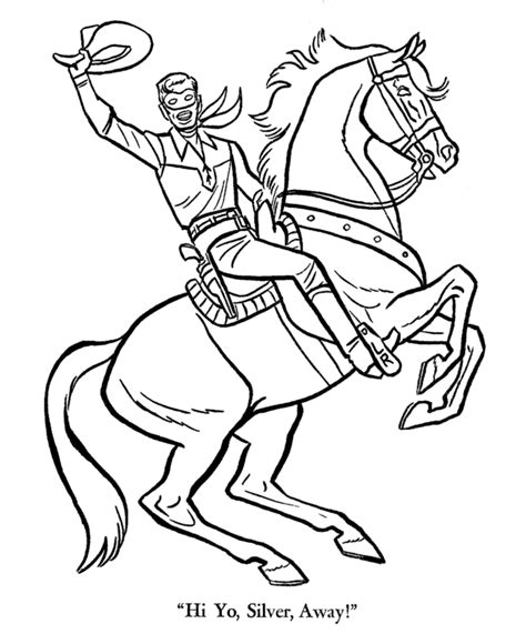 lone tree coloring page lone ranger coloring pages kids coloring