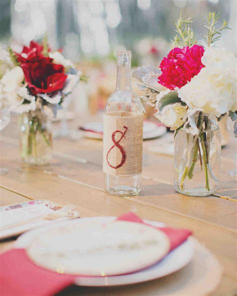 Wine Home Decor by Wedding Table Number Ideas That Scored At Real