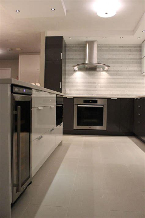 vancouver kitchen island vancouver kitchen renovation a monochromatic marvel in false creek