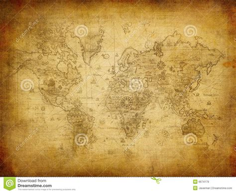 ancient map   world royalty  stock images image