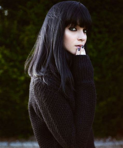 Full Fringe Long Winter Hairstyles for Women 2015   Full Dose