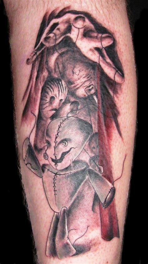 puppet tattoo designs master of puppets scary designs