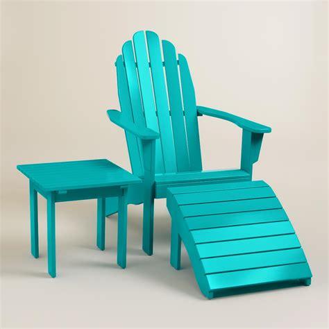 Adirondack Chairs World Market by Blue Adirondack Collection World Market