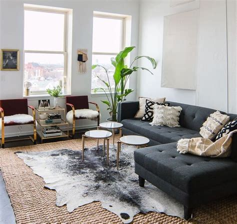 cowhide rug living room ideas best 25 cow hide rug living room ideas on pinterest cow
