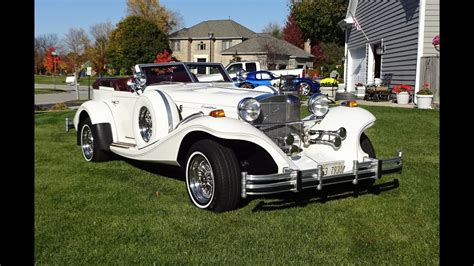 Excalibur Auto by 1982 Excalibur Phaeton In White Paint 80 S Car Of The