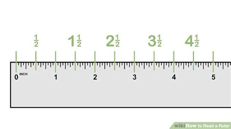 Ring Palang Petak Ukuran 1 5cm how to read a ruler 10 steps with pictures wikihow
