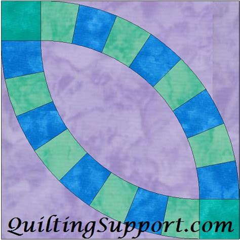 wedding ring quilt pattern templates single wedding ring 8 quilting template pattern