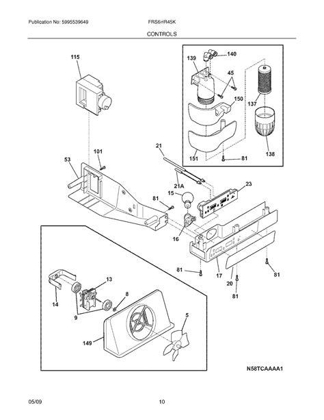 28 ge refrigerator water valve wiring diagram 188 166