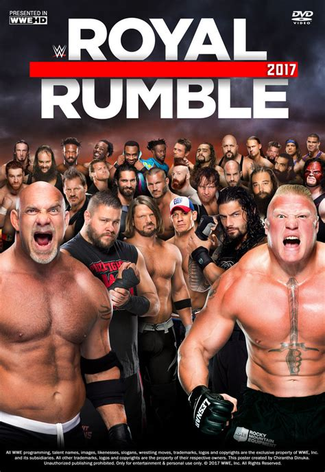 royals fan 2017 royal rumble 2017 poster by chirantha on deviantart
