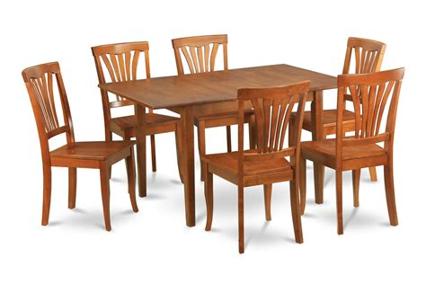 kitchen table sets that seat 6 7pc kichen table with self storage leaf and 6 dining