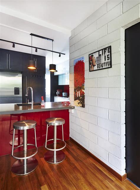 beautiful brick walls home decor singapore 9 chic homes with white brick walls home decor singapore