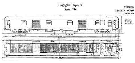carrozze ferroviarie italiane disegni e schemi treniebinari it