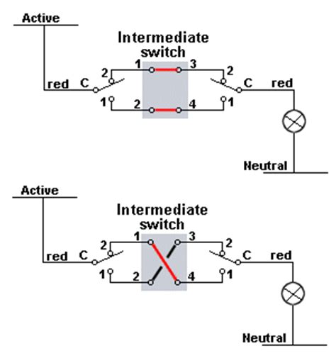 intermediate switch wiring diagram australia circuit and