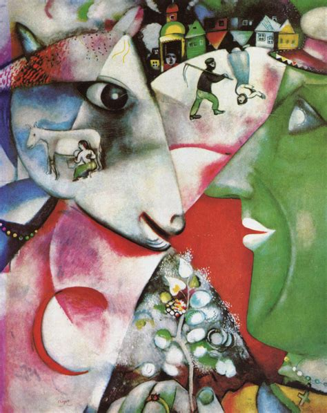 I Marc by Paintingdb 174 Chagall Marc I And The