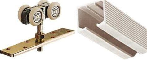 Set 2 Pasang Handle Kayu 38cm Kunci Rel Pintu Geser Rel Pintu Geser Omge
