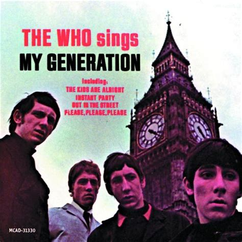 who sings my the who sings my generation album cover location