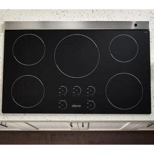 induction cooktop glass replacement dacor rnct365b renaissance 174 36 quot induction cooktop black