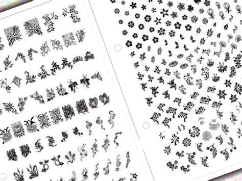 printable nail stencils 37 printable nail design stencils stylepics
