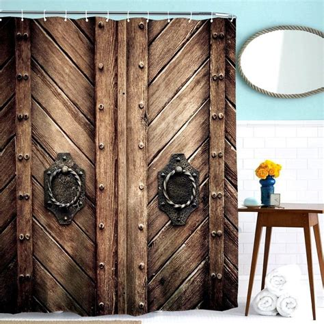 vintage style curtain fabric 25 best ideas about brown shower curtains on pinterest