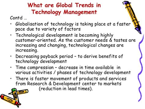 Mba In Technology Management Globe by Technology Diffusion