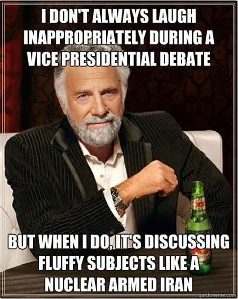Memes Debate - last night s vp debate in gifs memes and more