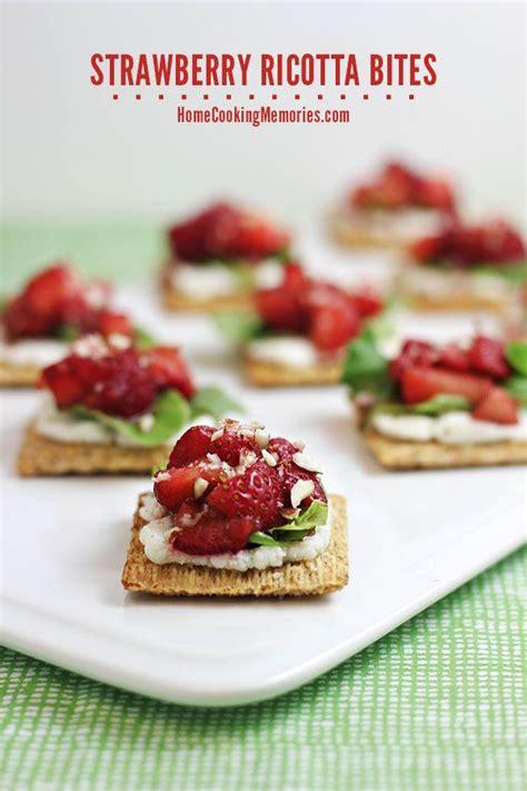 strawberry ricotta bites recipe home cooking memories