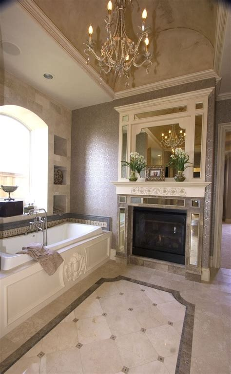 bathroom with fireplace fireplace beautiful bathrooms pinterest