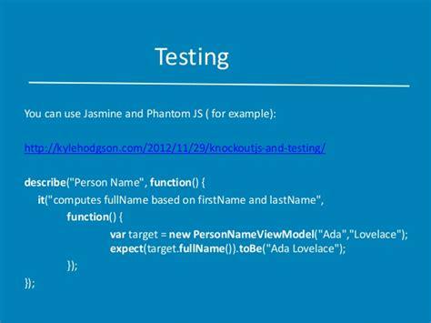 knockout validation pattern only if fundaments of knockout js