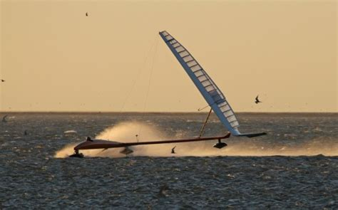 hydrofoil catamaran speed record bootstrap image gallery