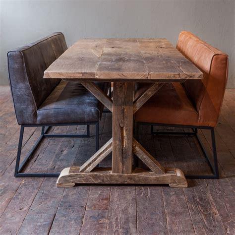 tafel oud maken robuuste oud eiken tafel van natuurlijk eiken gebr de
