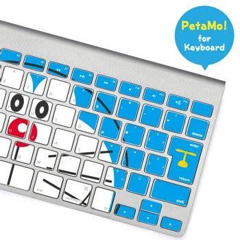 Keyboard Wireless Doraemon ラナ macbookキーボードにドラえもんが出現するデコレーションシール マイナビニュース