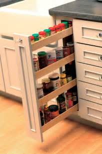 kitchen cabinet spice rack slide spice racks drawers storage dura supreme cabinetry