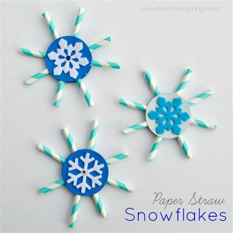 Paper Snowflakes For Preschoolers - 17 best images about january craft on