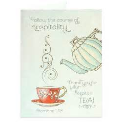 thank you greeting card hospitality thanks